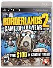 SONY BORDERLANDS 2 GAME OF THE YEAR EDITION